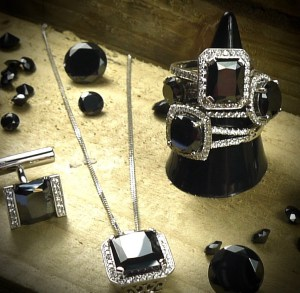 black creative jewellery